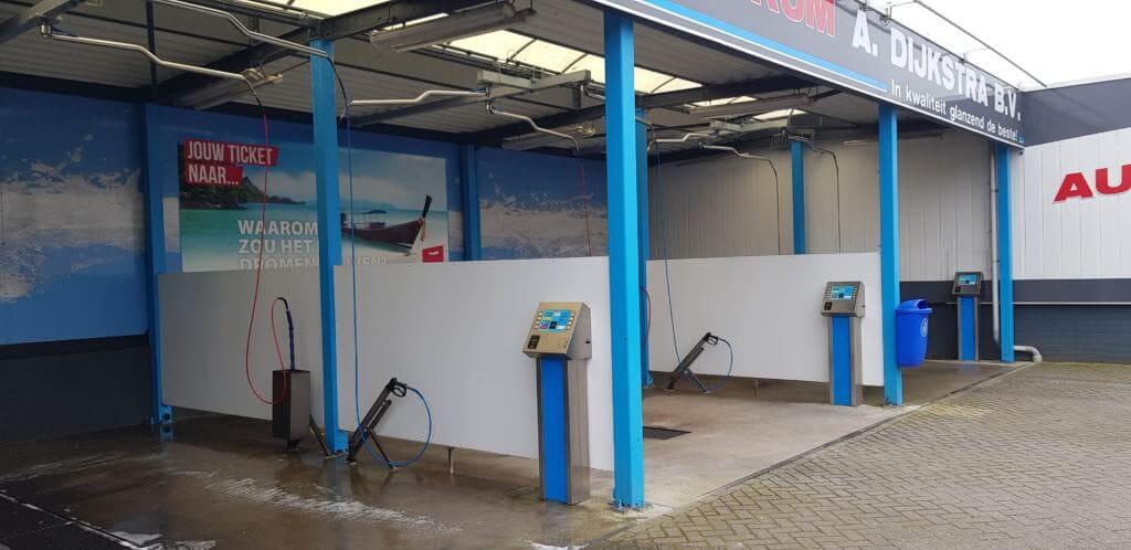 Autowasstraat Franeker Auto wassen