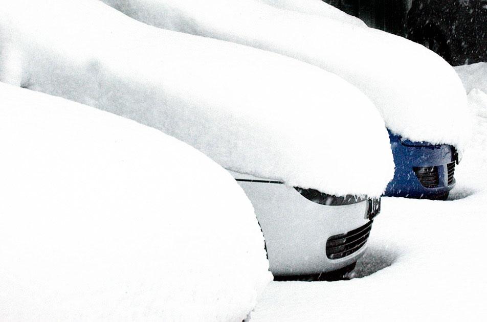 Auto wassen winter