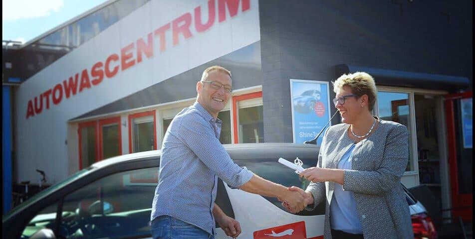 Auto wassen Friesland
