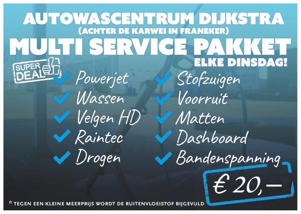 Multi service dag