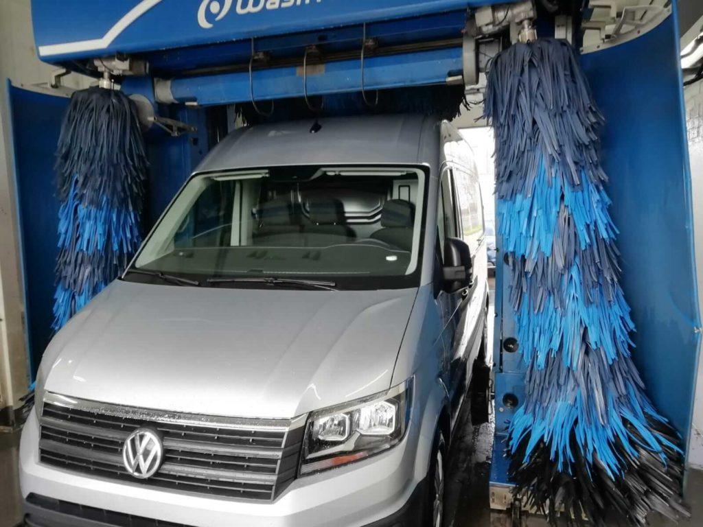 Bedrijfswagen wasstraat
